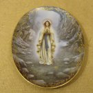 The Bradford Exhange Vintage Our Lady of Lourdes Plate No. 10633A Porcelain