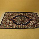 Handcrafted Area Rug 40in L x 19in W Multicolor Persian Design Wool Cotton