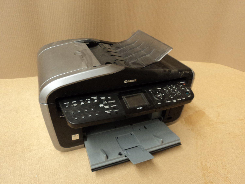 Canon Printer Black/Silver K10270 All-In-One Color Inkjet MP830