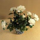 Handcrafted Rose Flower Arrangement In Pot Ceramic