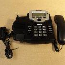 Cortelco Corded Desk Phone Black/Silver 912000TP227M