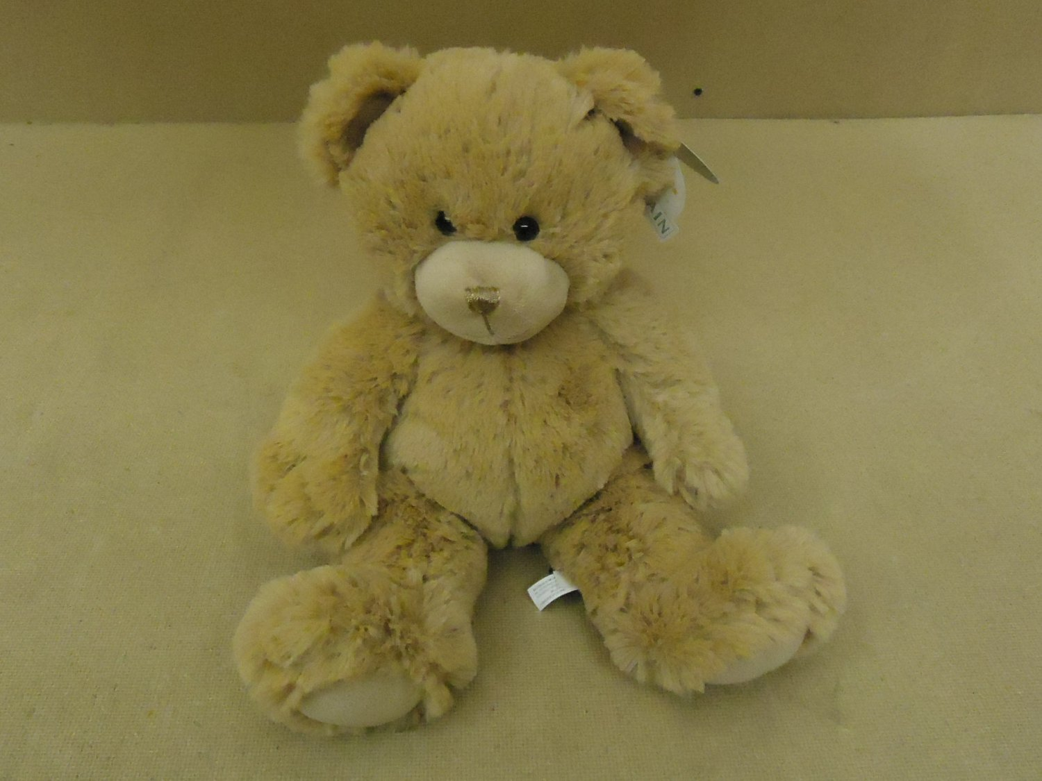 First & Main Teddy Bear 15in Fuzzy Light Brown Dean Ages 3 & Up
