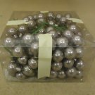Designer Glass Balls Decorative Silver 1in Diameter Lot of 50+