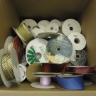 Designer Box (18in x 16in x 16in) of Ribbons Multicolor Various Sizes & Lengths