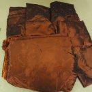 Designer Box of Material Red Various Sizes Satin Fabric