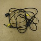 Standard Power Cord Audio Cable Black/Yellow