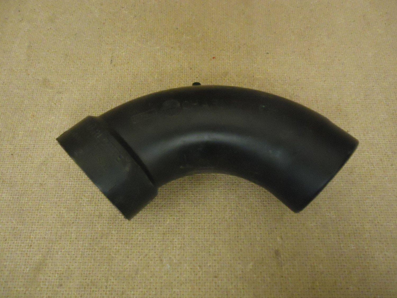 Charlotte 45 Degree Elbow Black 2in x 2in H x Spigot Plumbing ABS