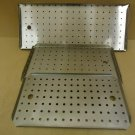 Heavy Duty Lot of 3 Panels With Holes Commercial Kitchen Stainless Steel