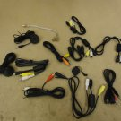 Standard Lot of 11 Audio Visual Cables Red/Yellow/White RCA Composite
