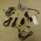 Standard Audio Visual Cables Adaptors Red/Yellow/White RCA Lot of 13 Composite