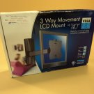 Space Saver LCD Mount 3 Way Movement Black Up to 40-Inch 60403