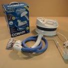 Conair Compact Fabric Steamer White/Blue 1200 Watt Heater GS4