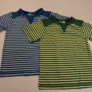 Kids Korner T-Shirts Lot of 2 100% Cotton Male Kids M 5/6 Striped