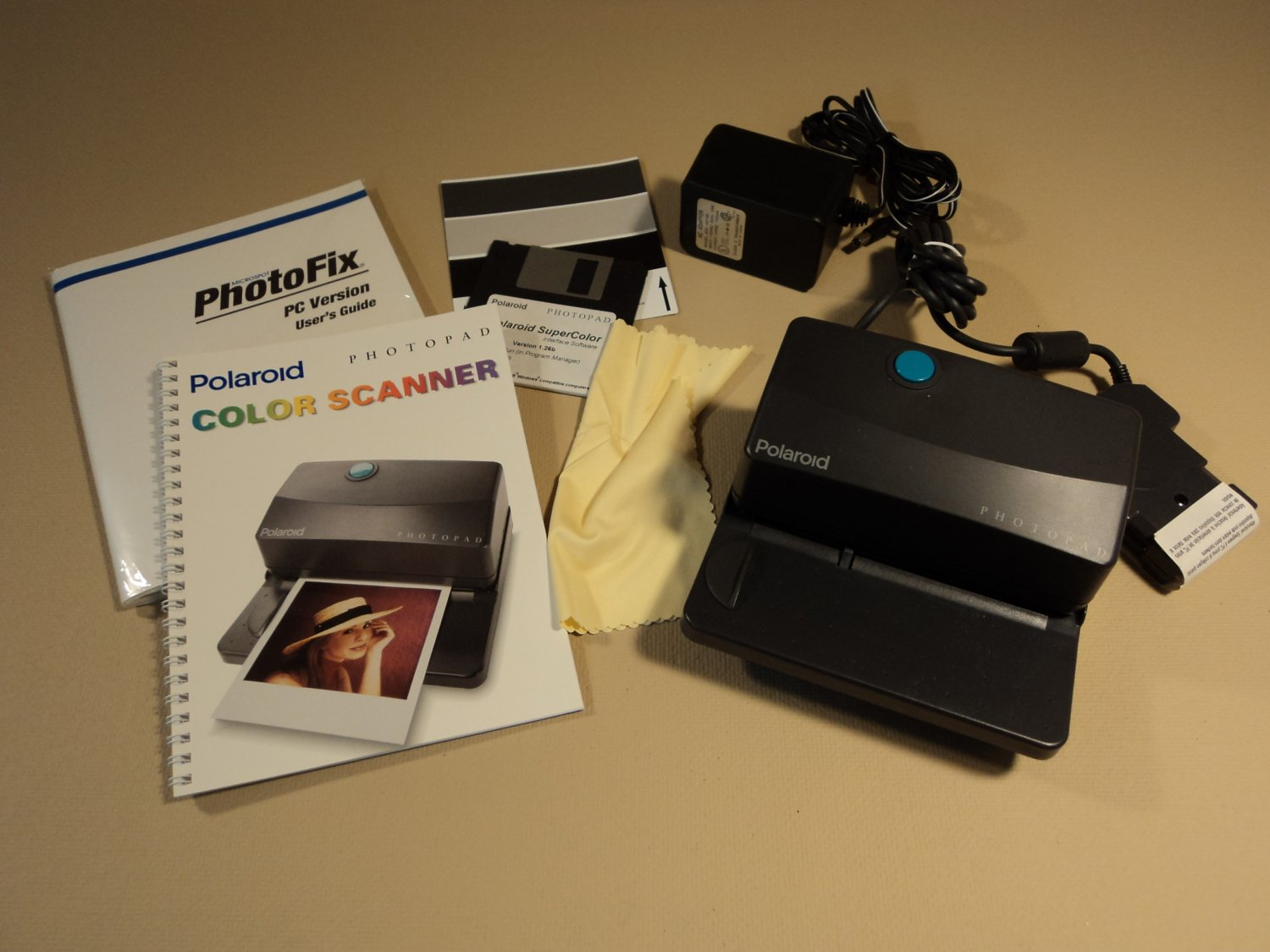 Polaroid Photopad Color Scanner 1625616