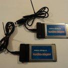 Standard USB2.0 Hi Speed CardBus Adaptor Lot of 2