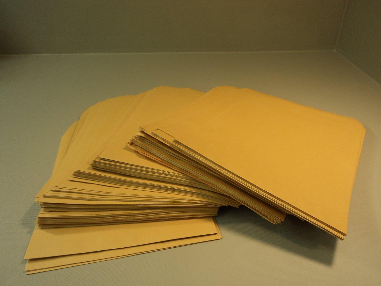 Standard Open End Kraft Flat Envelopes 15 1/2in L x 12in W Brown 190 Count