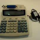 Victor Printing Calculator 12 Digit LCD Gray/Blue 1212-2
