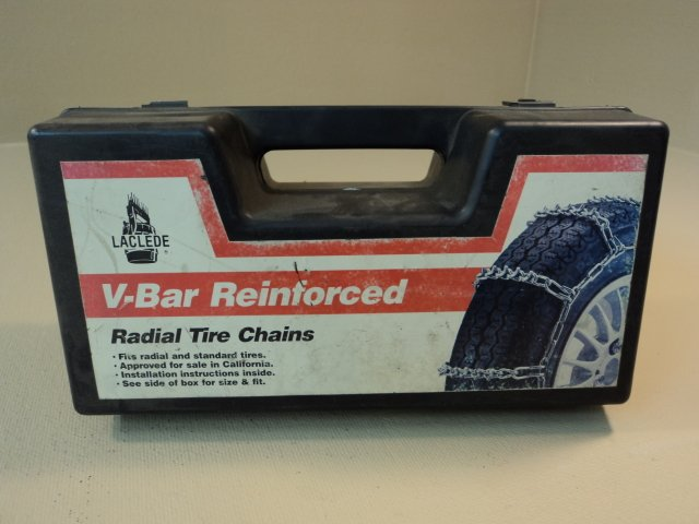 Laclede Radial Snow Tire Chains V-Bar Reinforced P195/75R15 195/75R15LT 1840