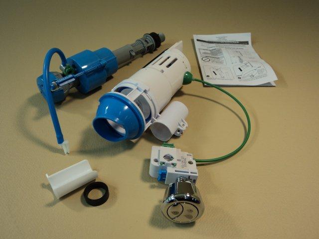 MJSI Dual Flush Hydro Flush Converter LightTouch Button 707813