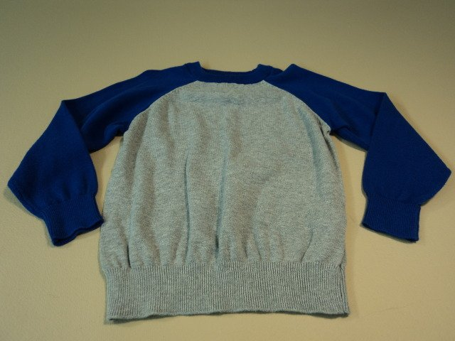 Childrens Place Boys Sweater Blue Gray 100% Cotton 4XS
