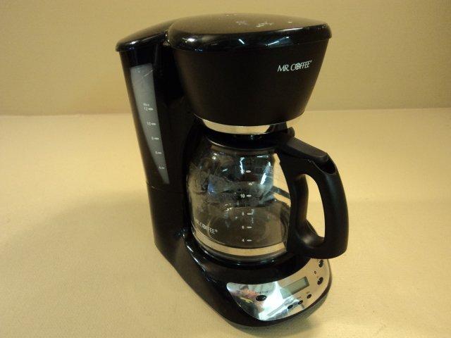 Mr Coffee Sunbeam 12 Cup Programmable Coffee Maker Black/Silver CHX23