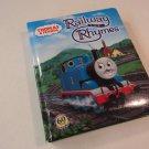 Britt Allcroft Thomas And Friends Railway Rhymes 51199 Book Hardcover