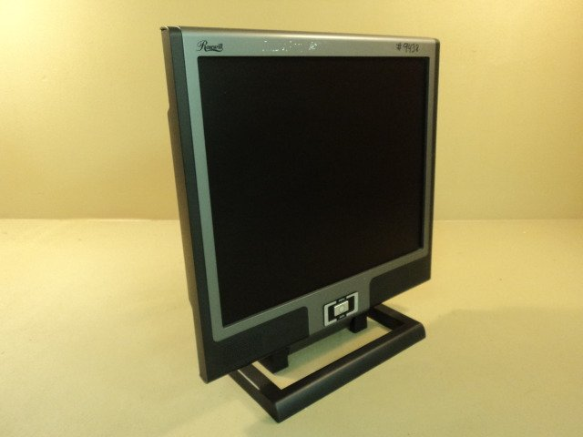 Rosewill 19 Inch TFT LCD Monitor Flat Color 100-240VAC 1.2-0.7A R913J