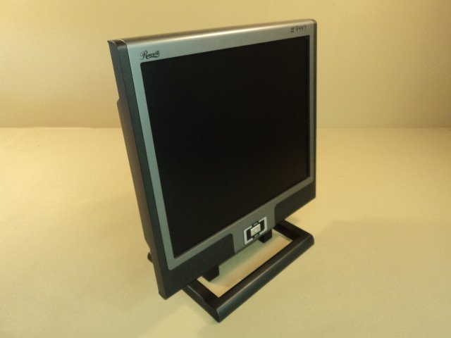 Rosewill 19 Inch Flat LCD TFT Monitor Color 100-240VAC 1.2-0.7A R913J
