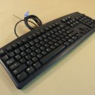 Dell Deluxe Computer Keyboard PS2 Black PS/2 RT7D00
