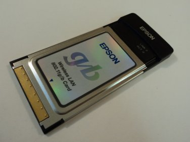 Epson Wireless LAN Card 802.11g 802.11b WN4301AEP