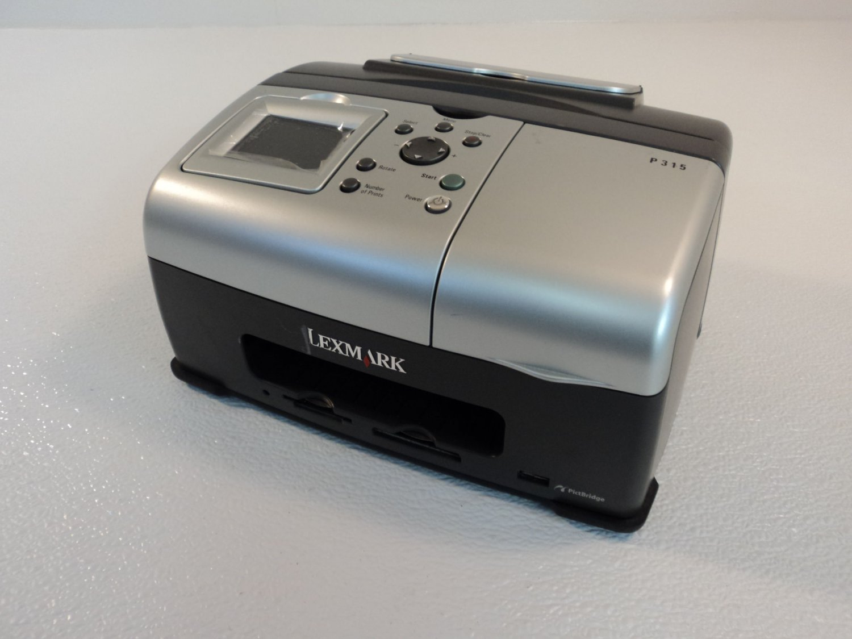Lexmark Snapshot Portable Photo Printer Inkjet P315 4300-001