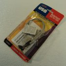 Belkin USB Motherboard Dual Port Cable Gray 10 Inch Cable F3U001