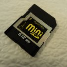 Unbranded/Generic Mini SD Card 512MB With Case