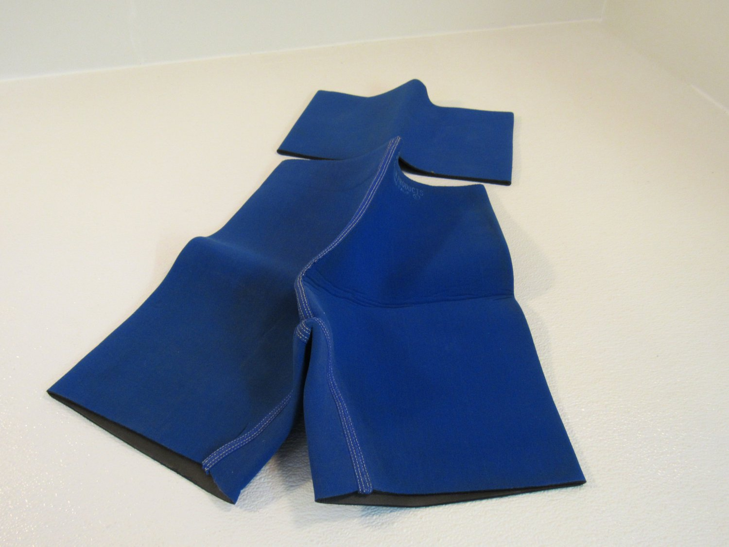 STA SLIM Products Compression Shorts And Waist Band Blue/Black Trimmer Neoprene