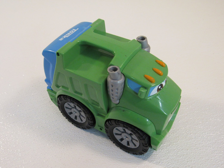 Tonka Hasbro Chuck Amp Friends Rowdy The Garbage Truck Green