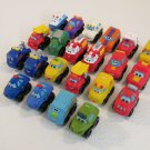Tonka Hasbro Chuck & Friends Minis Lot of 22 Trucks Cars Aid Vehicles