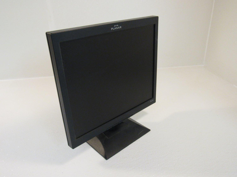 Planar 17in Color Flat Screen Monitor LCD 100-240V PL1700-BK