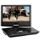 Portable Multimedia DVD Player with 10 Inch Swivel Screen