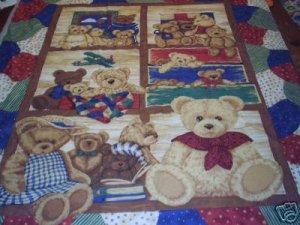 NEW OOAK TEDDY BEARS BABY /NURSERY CRIB SET 5-pc