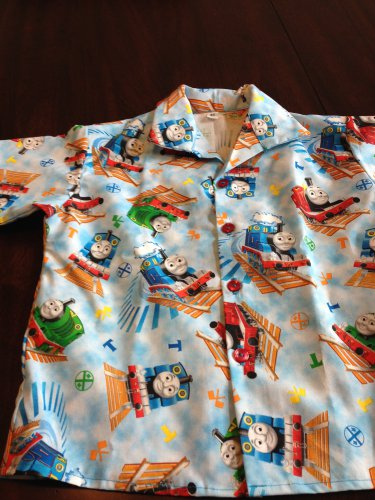 NEW  BOYS THOMAS THE TANK TRAIN SHIRT-SZ 2T/24, 3, 4, &,5