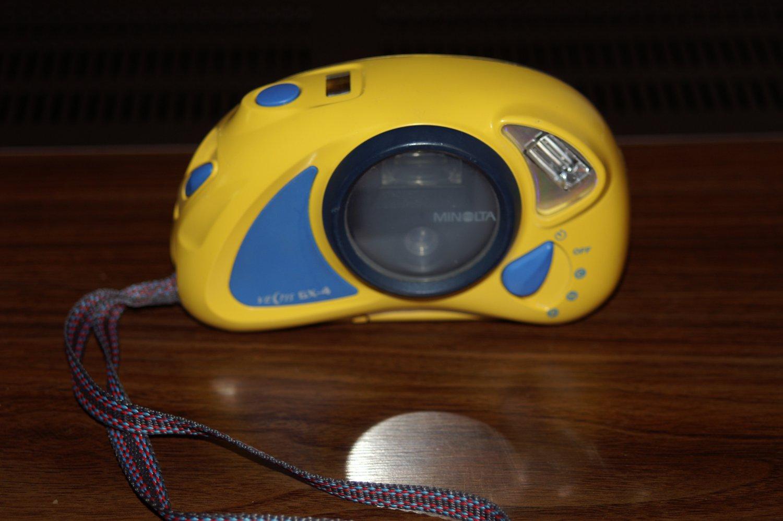 Konica Minolta Vectis GX4 Underwater Film Camera