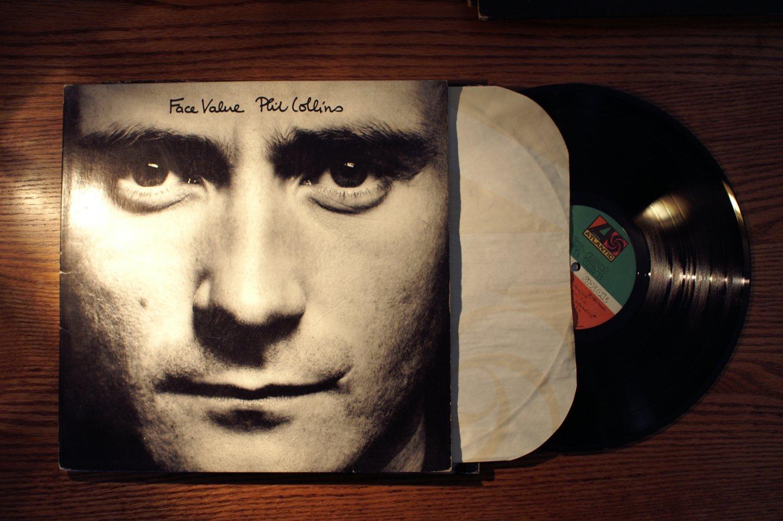 Phil Collins Face Value Audiophile LP