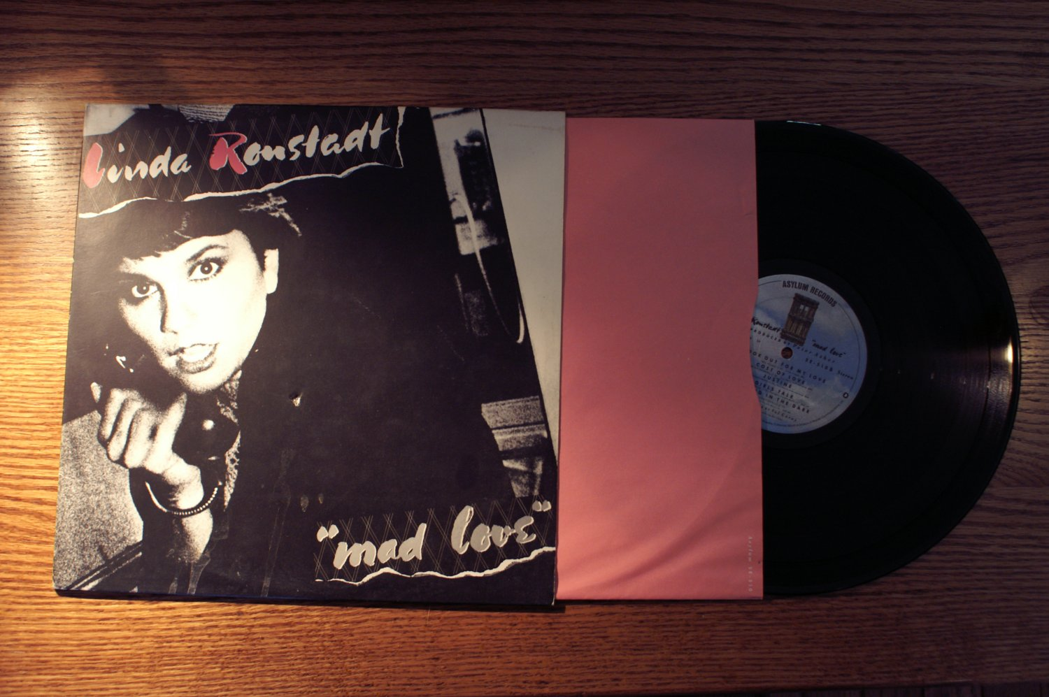 Linda Ronstadt Mad Love LP Audiophile