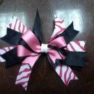 Black & Pink Zebra