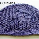 Lavender Kufi Crochet Toddler Hat