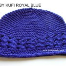 Royal Blue Kufi Crochet Toddler Hat