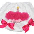 Hot Pink Ruffled Cupcake Bloomers (Large)