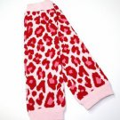 Hot Pink Cheetah Leg Warmers