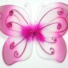 Little Hot Pink Butterfly Wings