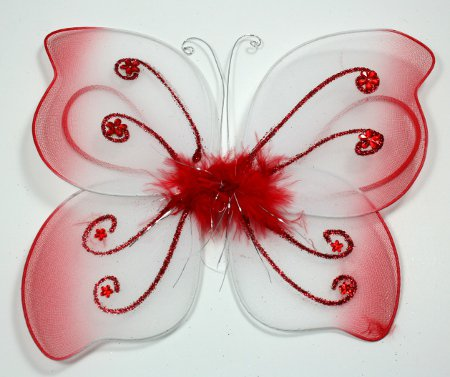Little Red Butterfly Wings